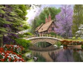 Casa di campagna accanto al ponte