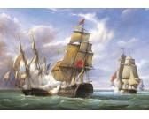 Battaglia di fregate francesi