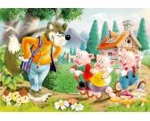 I Tre Porcellini e il lupo - PUZZLE PER BAMBINI