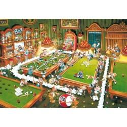 Billiard - TRIANGULAR PUZZLE