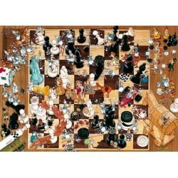 Gioco degli scacchi - TRIANGULAR PUZZLE