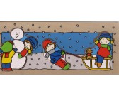 Inverno - PUZZLE DI LEGNO
