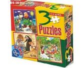 Pinocchio, Casa, Biancaneve - PUZZLE PER BAMBINI