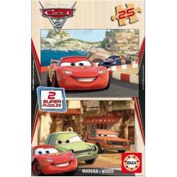 Cars 2 - PUZZLE DI LEGNO