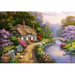 Casa accanto al fiume