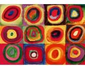Studio colori dei quadrati