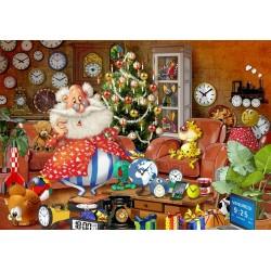 Babbo Natale si sta preparando per il Natale