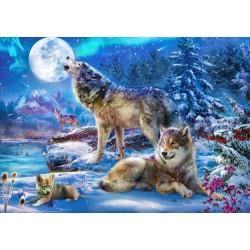 Famiglia di lupi