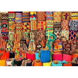 Cestini colorati
