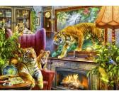 Quadro vivace - le tigri
