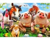 Animali della fattoria - PUZZLE PER BAMBINI