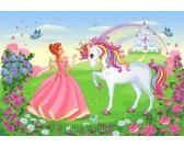 Principessa e unicorno - PUZZLE PER BAMBINI