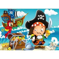 Pirata - PUZZLE PER BAMBINI