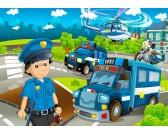 Polizia - PUZZLE PER BAMBINI