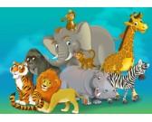 Safari - PUZZLE PER BAMBINI