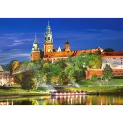 Wawel di notte, Polonia