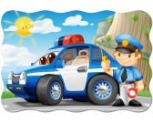 Macchina della polizia - PUZZLE PER BAMBINI