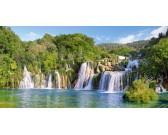 Cascate Krk, Croazia - PUZZLE PANORAMICO