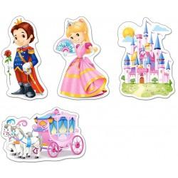 Mondo delle principesse - PUZZLE PER BAMBINI