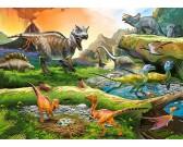 Mondo di dinosauri - PUZZLE PER BAMBINI