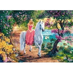 Principessa e unicorni - PUZZLE PER BAMBINI