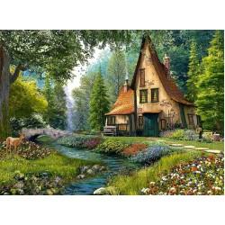Chalet nel bosco profondo