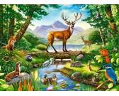 Vita nella foresta - PUZZLE PER BAMBINI