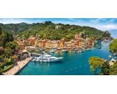 Vista su Portofino - PUZZLE PANORAMICO