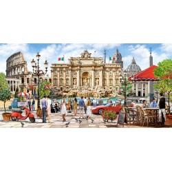 Monumenti di Roma - PUZZLE PANORAMICO