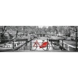 Bicicletta ad Amsterdam - PUZZLE PANORAMICO
