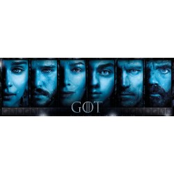 Game of thrones - PUZZLE PANORAMICO