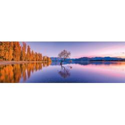 Lago Wanaka - PUZZLE PANORAMICO