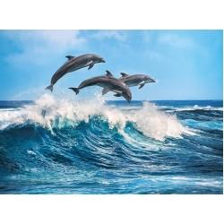 Tre delfini