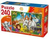 Animali nella giungla - PUZZLE PER BAMBINI