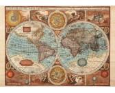 Mappa del mondo 1626