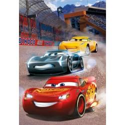 Cars 3 - Round vincente - PUZZLE FLUORESCENTE