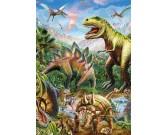 Mondo di dinosauri - PUZZLE FLUORESCENTE