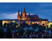 Praga a notte - PUZZLE FLUORESCENTE
