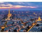 Parigi a notte - PUZZLE FLUORESCENTE
