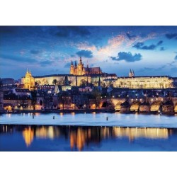 Castello di Praga - PUZZLE FLUORESCENTE
