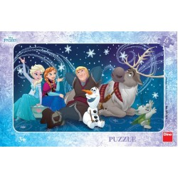 Frozen - fiocchi di neve - PUZZLE PER BAMBINI