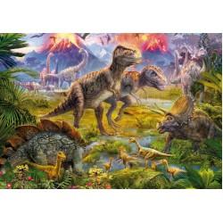 Raduno di dinosauri