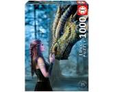 Sovrana con il suo drago