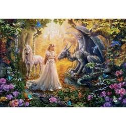 Drago, unicorno e principessa