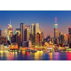 Manhattan di notte