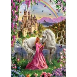 Unicorno e principessa