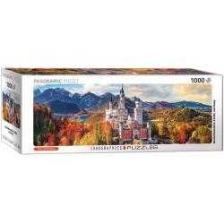 Castello Neuschwanstein - PUZZLE PANORAMICO