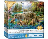 Famiglia di lupi - XXL PUZZLE