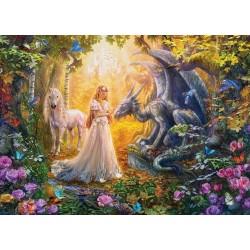 Principessa e drago - XXL PUZZLE