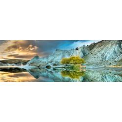 Lago azzuro - PUZZLE PANORAMICO
